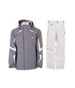 Trespass Horgan Jacket Slate w/ Sessions The Hot Pants Smoke White