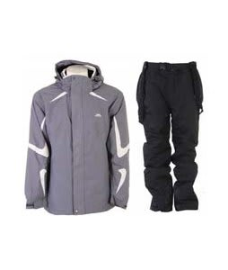 Trespass Horgan Jacket Slate w/ Trespass Glasto Snow Pants Black