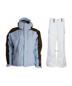 Bonfire Fusion Strobe Jacket Ocean/Leather w/ Bonfire Evolution Pants Silk