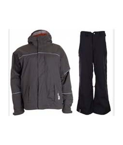 Bonfire Fusion Aura Jacket Graphite w/ Bonfire Evolution Pants Black