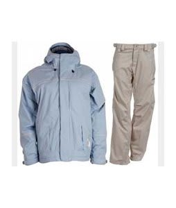 Bonfire Fusion Aura Jacket Ocean w/ Foursquare Kim Pants Sandstone Hatch