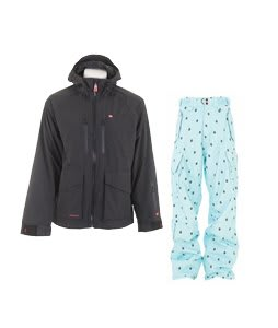 Foursquare Stevo Jacket Black w/ Foursquare Yeung Pants Keep Cool Leaf Grid