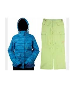 Foursquare Tevis Jacket Regatta Lil Stripes w/ Foursquare Newberry Pants Asparagus