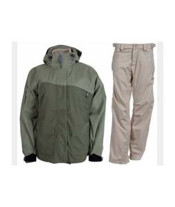 Sessions Siryn 4 in 1 Jacket Drab w/ Foursquare Kim Pants Sandstone Hatch