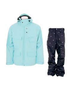 Foursquare Wright Jacket Keep Cool w/ Special Blend C5 Empire Pants Black Icon