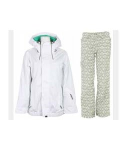 Vans Hana Insulated Jacket Brt Wht Wnd w/ Foursquare Fuji Pants Rejuvenate Biggie Dots