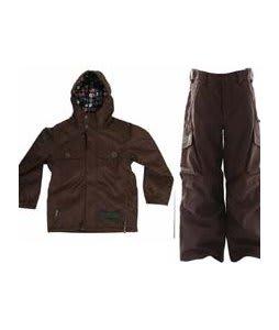 Burton Entourage Jacket Mocha w/ Burton Cargo Snow Pants Mocha