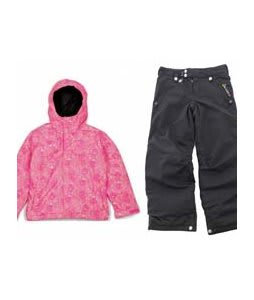 Bonfire Poise Jacket Valentine w/ Sessions Star Snow Pants