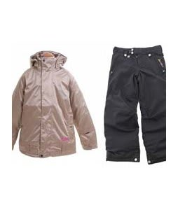 Burton Reflex Jacket Glimmer w/ Sessions Star Snow Pants Black Magic