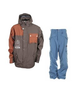 Sessions TJ's Limited Jacket Brown w/ Special Blend C3 Division Pants Memento