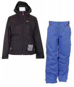 Foursquare Angela Jacket Black w/ Foursquare Sammoff Pants Black Small Toof