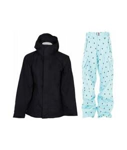 Bonfire Evolution Jacket Black w/ Foursquare Yeung Pants Keep Cool Leaf Grid