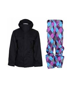 Bonfire Rainier Jacket Black w/ Special Blend Annex Pants Gnargyle 