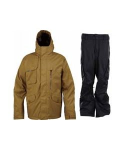 Burton Esquire Jacket Sherpa w/ Burton Fife Pants True Black