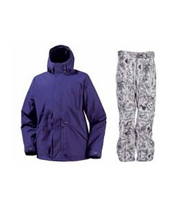 Burton Hood Jacket Sizzurp w/ Burton Vent Pants Good Trip Print