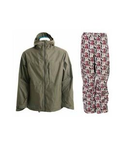Burton Launch Jacket Hazel w/ Burton Cargo Pants Afterglow Gallery