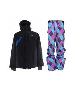 DC Helix Jacket Black w/ Special Blend Annex Pants Gnargyle 