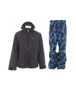 Foursquare Stevo Jacket Black w/ Special Blend C4 Strike Pants Black Brush Pat