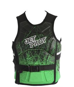 Jet Pilot A-10 S/E Comp Wakeboard Vest Green