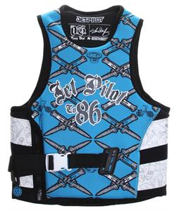 Jet Pilot OG Comp Wakeboard Vest Blue