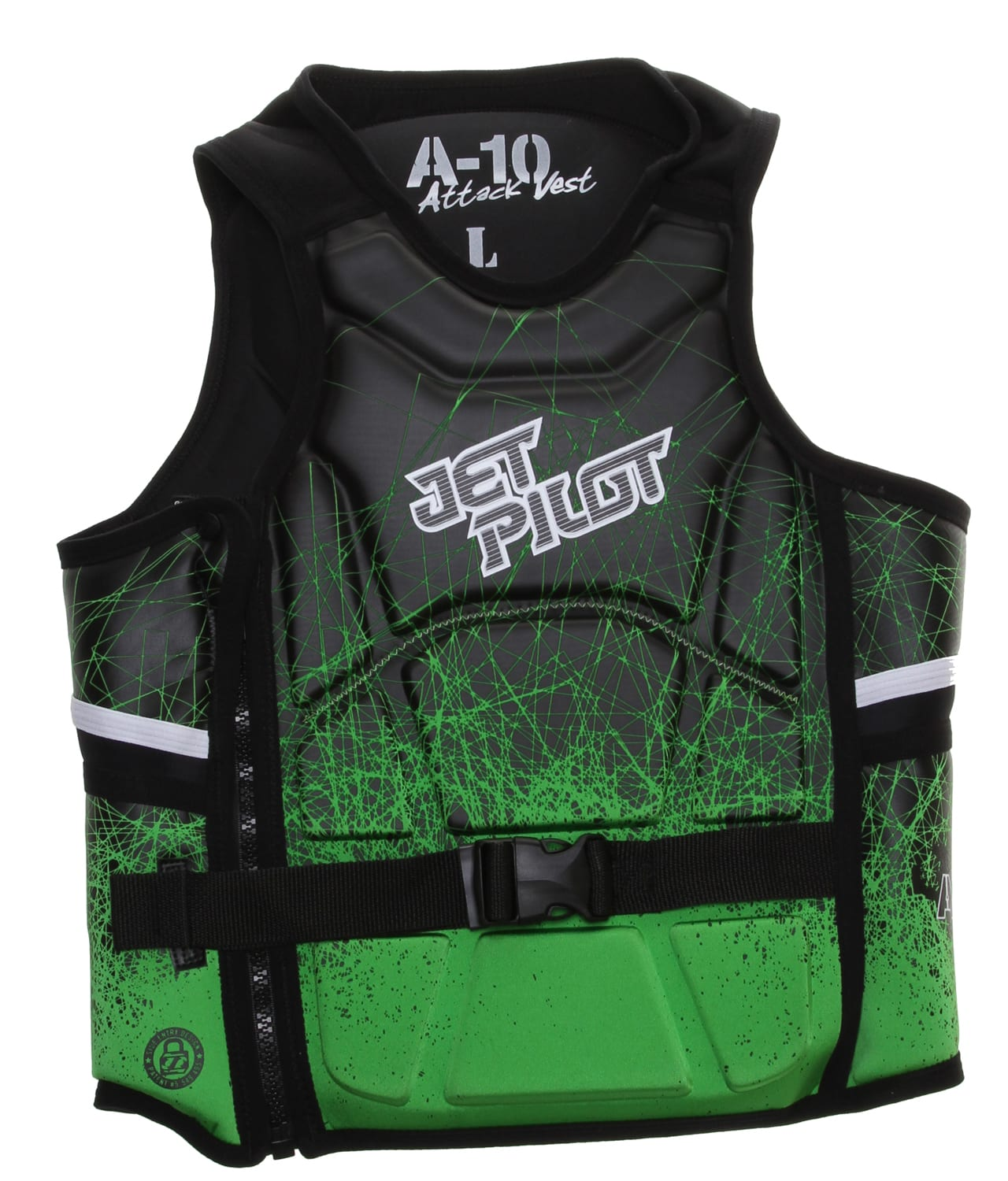 Shop for Jet Pilot A-10 Comp Wakeboard Vest Green - Men's