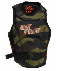 Jet Pilot A-10 Comp Wakeboard Vest Army