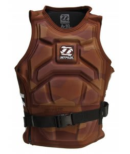 Jet Pilot A-10 Molded S/E Comp Wakeboard Vest Brown