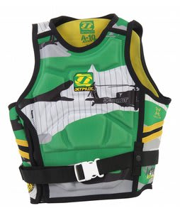 Jet Pilot A-10 Molded S/E Comp Wakeboard Vest Green