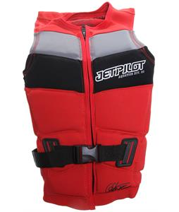 Jet Pilot Chris O'Shea Comp Wakeboard Vest Red