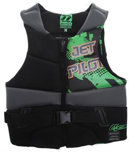 Jet Pilot Dillon Gun Comp Wakeboard Vest Green