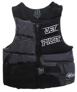 Jet Pilot Dillon Gun Comp Wakeboard Vest Grey