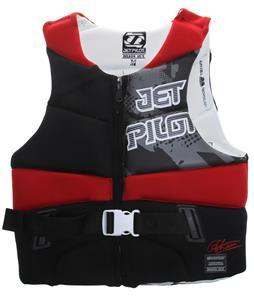 Jet Pilot Dillon Gun Comp Wakeboard Vest Red