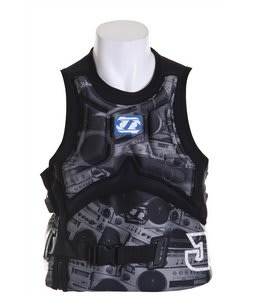 Jet Pilot Falcon Molded S/E Comp Wakeboard Vest Black
