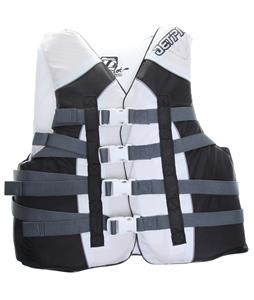 Jet Pilot Flight Nylon Wakeboard Vest White