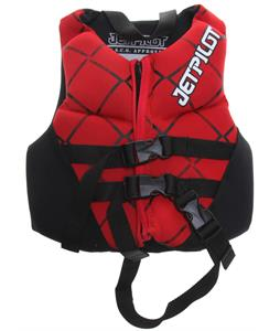 Jet Pilot Neo Wakeboard Vest Red Child