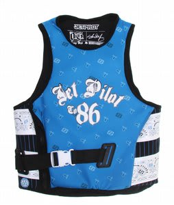 Jet Pilot OG Comp Wakeboard Vest w/ Utak Lining Blue