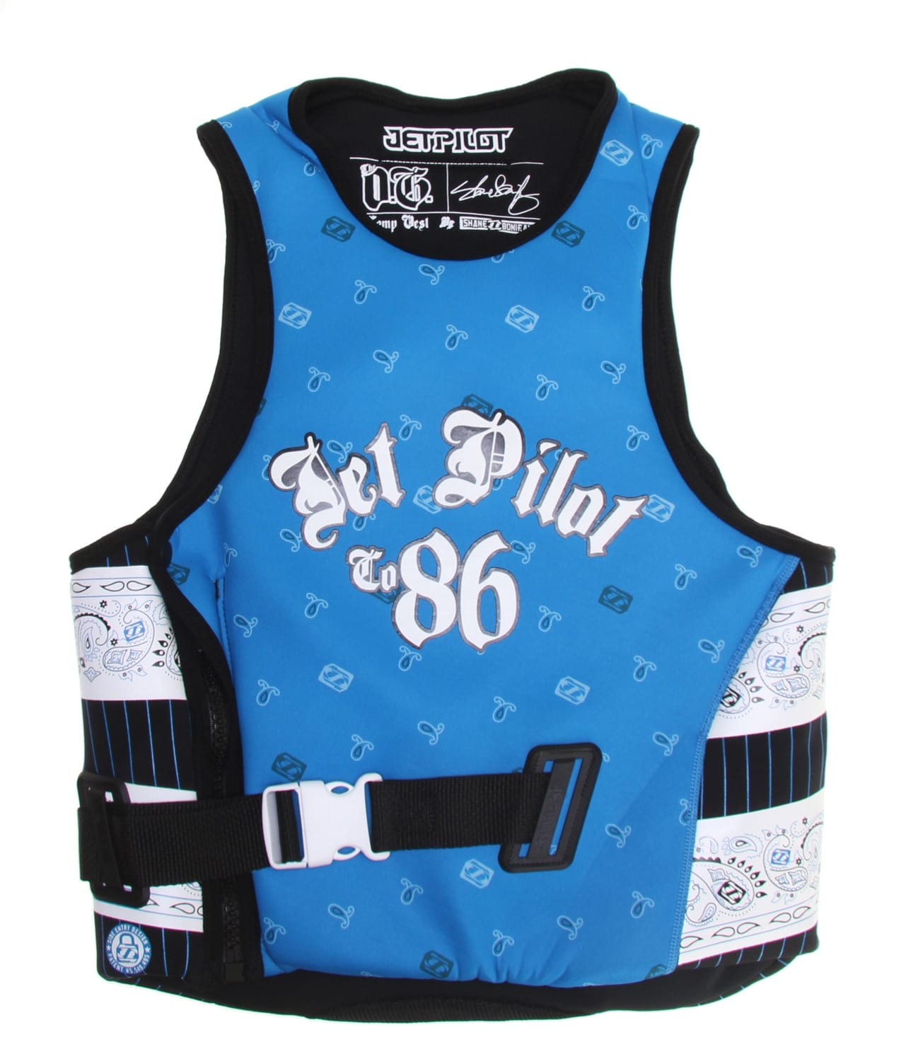 Shop for Jet Pilot OG Comp Wakeboard Vest w/ Utak Lining Blue - Men's