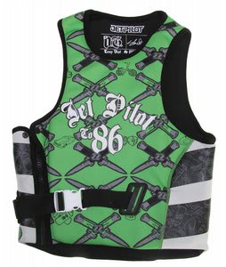 Jet Pilot OG S/E Comp Wakeboard Vest Green