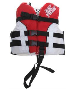 Jet Pilot Pistol Wakeboard Vest Red Child