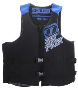 Jet Pilot Recruit Neo Wakeboard Vest Blue
