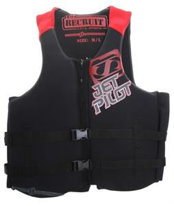 Jet Pilot Recruit Neo Wakeboard Vest Red