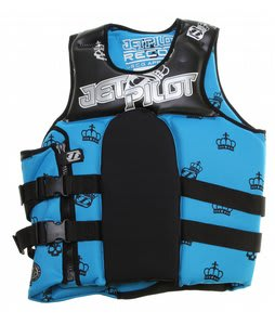 Jet Pilot Recoil S/E Neo Wakeboard Vest Blue