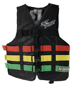 Jet Pilot S1 Nylon CGA Wakeboard Vest Rasta