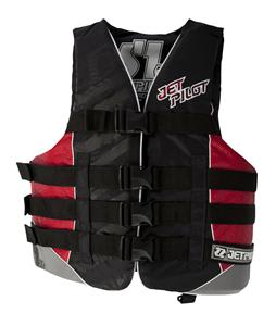 Jet Pilot S1 Nylon CGA Wakeboard Vest Red
