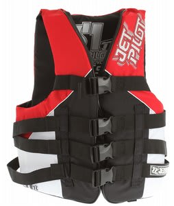 Jet Pilot S1 Nylon Approved PDF Wakeboard Vest Red