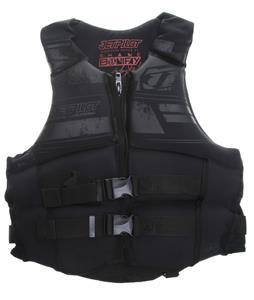 Jet Pilot S Bonifay Approved PFD Wakeboard Vest Black