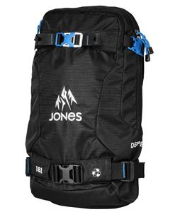 Jones Deeper 18L Backpack Black/Cyan
