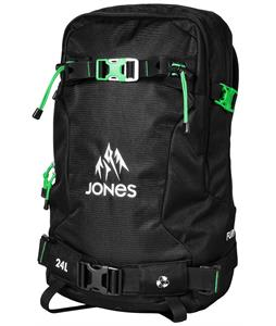 Jones Further 24L Backpack Black/Green