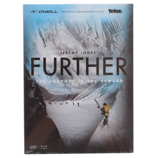 Jones Further Snowboard DVD 2 Disc Combo