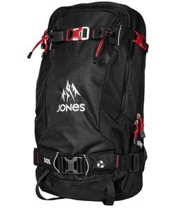 Jones Higher 30L Backpack Black/Red